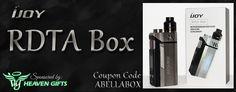 Bella Vapes Reviews: iJoy RDTA BOX Review