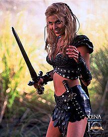 Hudson Leick as Callisto in Xena Warrior Princess