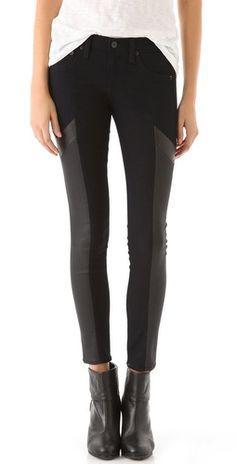 rag & bone jeans $235. CAbi Ricky Legging-almost identical-$98 http://jamiefox.cabionline.com