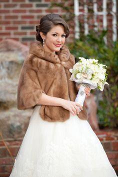 Winter Wedding Fur, Winter Wedding Bridesmaids, Winter Bride, Winter Wonderland Wedding, Vintage Fur, Vintage Bridal, Rustic Wedding Inspiration, Toronto Wedding Photographer, Dream Wedding