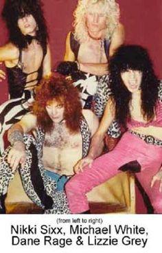 Nikki Sixx, Dane Rage and Michael White Star Wars, Glam Hair, Nikki Sixx, Led Zeppelin, Hard Rock, Hair Band, Rage, Heavy Metal, Take That