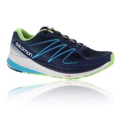 hot sale online e0cc1 11799 Salomon Women s Sense Propulse Running Shoe,Slate Blue White Fresh Green,US  8 M     Very nice of you to have dropped by to see the image.