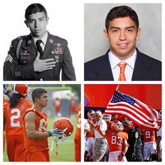 War hero.....now a Clemson Tiger.....