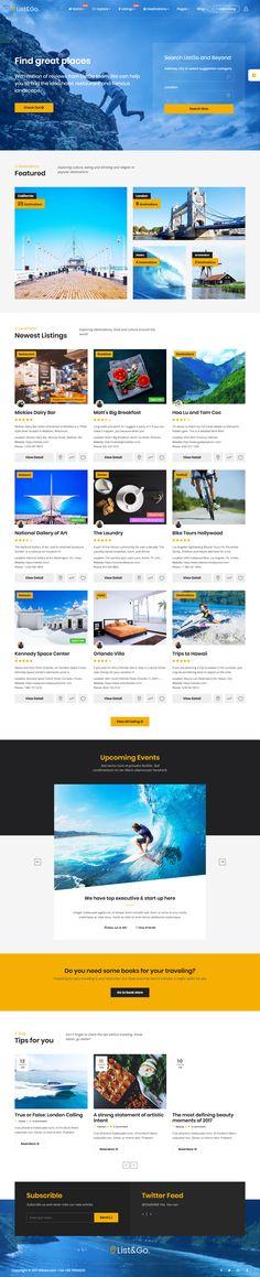 16 Mejores Plantillas WordPress para Web de Clasificados   Pinterest ...