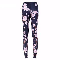 Sakura Cherry Blossom Leggings