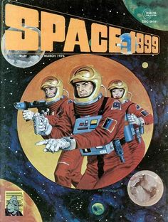 Space 1999. I bought the whole series,  very optimistic vision of 1999, never came true