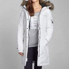 Womens A&F Down Expedition Parka   Womens Outerwear   Abercrombie.com