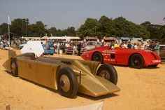 1926 Sunbeam 1000 HP Mystery and 1929 Golden Arrow Land Speed Record Cars, Goodwood Festival of Speed | Flickr