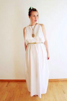 Wear The Canvas: Easy Last Minute Costume - Greek Goddess