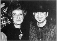Stevie Ray Vaughan and his mom are very pleased with your thoughts just now