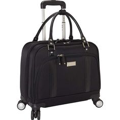 Buy the Samsonite Women's Laptop Spinner Mobile Office at eBags - Carry your essentials for business travel inside this sleek and stylish roller bag from Samsonite.