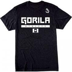 Gorila Men's Athlete T-shirt - Black