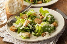 Caesar Salad - viele wissen gar nicht, was da wirklich rein gehört. Hier das Original-Rezept