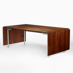 Hans Wegner, Rosewood Dining Table for Andreas Tuck, c1960.