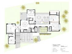 Casa ATT Is A Modern Residence In Puebla, Mexico 13