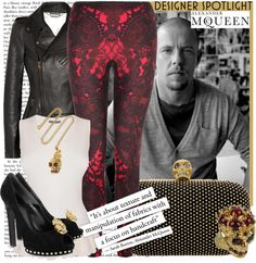 """Designer Spotlight - Alexander McQueen"" by karineminzonwilson ❤ liked on Polyvore"