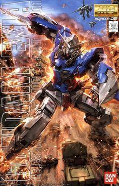 Gundam Exia GN-001 MG 1/100 - Gundam Toys Shop, Gunpla Model Kits Hobby Online Store, Diorama Supply, Tamiya Paint, Bandai Action Figures Supplier