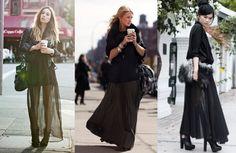 long skirt gonne lunghe