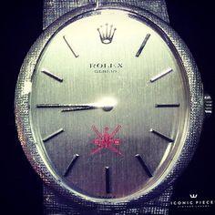 #rolex #vintagerolex #oman #crestdial #menwatches #iconicpieces #hodinkee #watches #vintagewatches #omanrolex #khanjar #qaboos