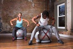 Superior Fitness 600 lb Exercise / Yoga / Stability Ball With Heavy Duty Gym Quality Resistance Bands & Pump - Improves Balance, Core Strength, Back Pain & Posture - For Men & Women Weight Loss For Women, Easy Weight Loss, Glute Isolation Workout, Yoga For Balance, Stability Ball, Anytime Fitness, Yoga Everyday, Yoga Fashion, No Equipment Workout