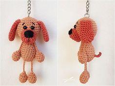 Crochet Dog // Bag Handler / Tag – Amigurumi # Wollpantoffeln … - My CMS Bug Out Bag Checklist, Survival Blanket, Dog Bag, Work Gloves, Chrochet, Crochet Patterns, Christmas Ornaments, Gallery, Pretty