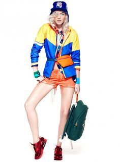 3b864bf177a8 workout colorblocking Sporty Outfits