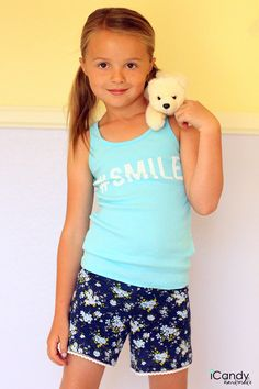 girls size 6 free knit shorts pattern