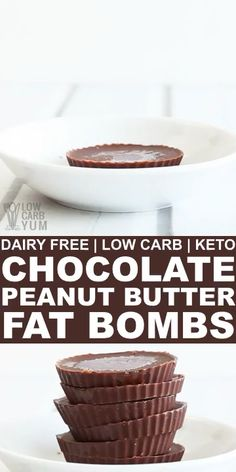 Do you love chocolate and peanut butter? Satisfy your craving with this low carb chocolate peanut butter keto fat bomb recipe. A perfect ketogenic sna. Keto Chocolate Fat Bomb, Dairy Free Chocolate, Low Carb Chocolate, Chocolate Peanut Butter, Chocolate Bars, Cocoa Butter, Dairy Free Low Carb, Dairy Free Recipes, Gluten Free