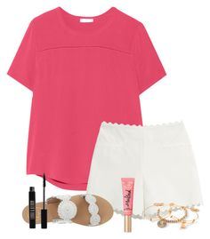"""""""Day 4"""" by mylifeassyd ❤ liked on Polyvore featuring Equipment, Moschino Cheap & Chic, Jack Rogers, Alex and Ani, Lord & Berry, sydneysspringbreak and squidsmostlikedsets"""