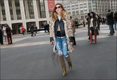 The Urban Vogue: Totally Tattered…NYFW 2-2015