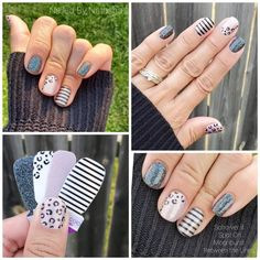 Gel Polish Colors, Nail Colors, Nail Polish, Cute Simple Nails, Cute Nails, Nail Color Combos, Nail Time, Happy Nails, Nail Photos