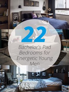 It is every man's dream to have his own space. Want one? Here are some bedrooms for ideas.. 22 Bachelor's Pad Bedrooms for Young Energetic Men