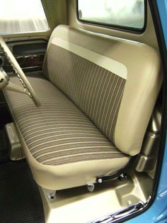 The 1960 - 1966 Chevrolet & GMC Pickups Factory Correct Restoration Thread - The 1947 - Present Chevrolet & GMC Truck Message Board Network 1966 Chevy Truck, Chevrolet Trucks, Ford Trucks, Jeep Truck, Automotive Upholstery, Upholstery Repair, Bench Seat Covers, Gmc Motorhome, Chevy Pickups