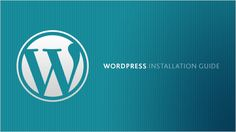 1.Choose your platform on which you need to create website ie here we choose wordpress  2. In the second step you need to select your Domain name   3. Installation   There are two  ways of installation are there one click installation or manually installation,Here we apply One