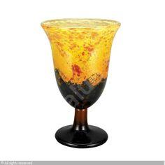 DAUM Nancy - Art Deco Intercalaire Vase