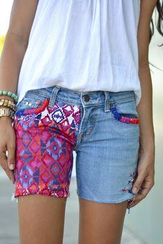Restyle.Restore.Rejoice DIY shorts