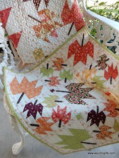 Fall Leaves Mini Quilt | A Quilting Life | Bloglovin'                                                                                                                                                                                 More