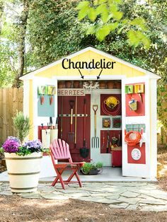 4 Men 1 Lady: Outdoor shed inspiration.
