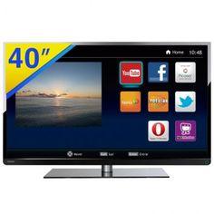 """TV LED 40"""" Semp Toshiba Full HD com Acesso à Internet, Interatividade DTVi, PVR Ready, EPG, Conexões HDMI e USB - 40L2400"""