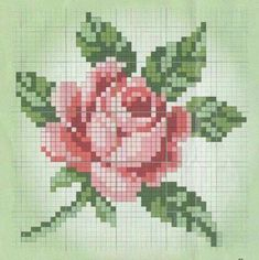 Newest Photo Cross Stitch rose Thoughts Considering that I've been combination regular sewing since I'd been a woman My spouse and i s… Counted Cross Stitch Patterns, Cross Stitch Designs, Cross Stitch Embroidery, Embroidery Patterns, Cross Stitch Rose Pattern, Hand Embroidery, Modele Pixel Art, Tapestry Crochet, Cross Stitch Flowers