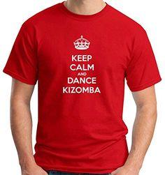 T-Shirtshock – T-shirt T0918 keep calm and dance kizomba fun cool geek, Size XXL