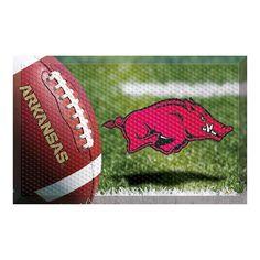 Arkansas Razorbacks NCAA Scraper Doormat (19x30)