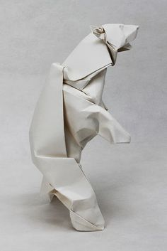 Polar Bear | El arte del Origami | illustrated instructions