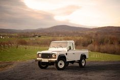 This Pristine 1991 Land Rover Defender 110 Pickup Can Be Yours Defender 110 For Sale, Land Rover Defender 110, Series 2 Land Rover, Land Rover Pick Up, 1964 Ford, Honda S, Ford Gt40, Pontiac Gto, American Muscle Cars