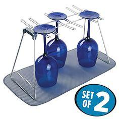 mDesign Free Standing Wine Glass Drying Rack and Mini Dis... https://www.amazon.com/dp/B01LZ3XDEE/ref=cm_sw_r_pi_dp_x_17JJybK4DPWR0