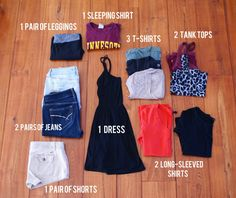 Women's Packing List for Backpacking Europe | Expedition Girl