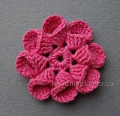 Tina's handicraft : 2 designs photo tutorials for flowers