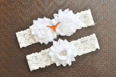 Hey, I found this really awesome Etsy listing at https://www.etsy.com/listing/197566905/texas-longhorns-wedding-garter-set-texas