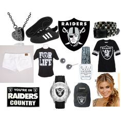 Oakland Raiders, created by teriessa-culpepper