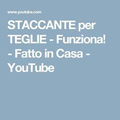 STACCANTE per TEGLIE - Funziona! - Fatto in Casa - YouTube